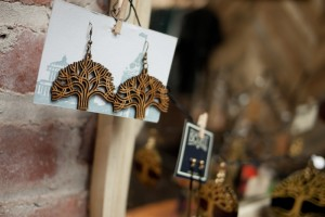 Antietam Designs Oakland Earrings at the Oaklandish Retail Store