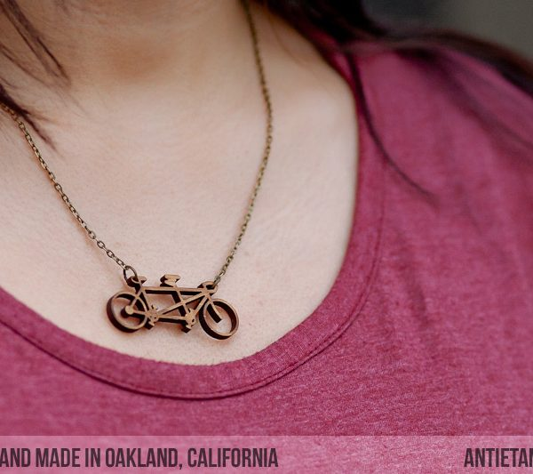 Bamboo Tandem Necklace