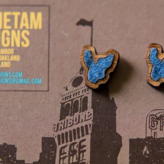 Lake Merritt Stud Earrings by Antietam Designs